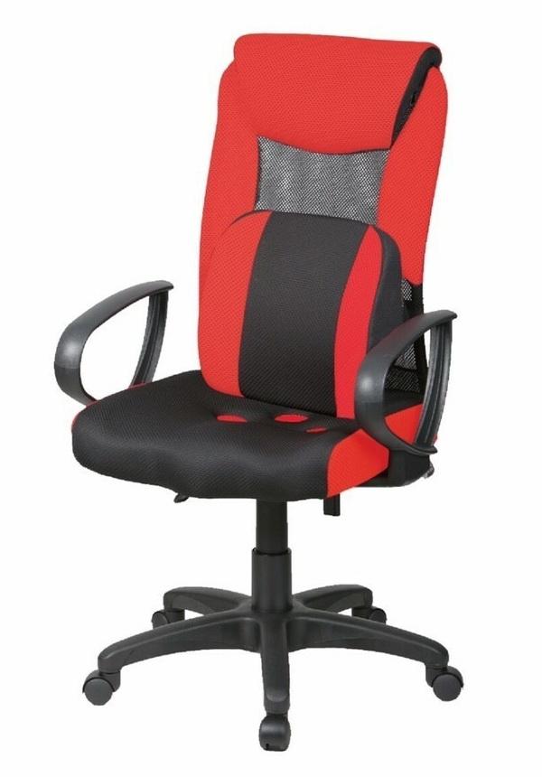 PU坐墊      PU舒壓大護腰   氣壓升降       椅背傾仰鎖定     座寬50座深47高106~116