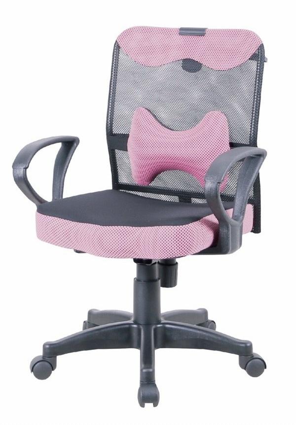 高密度泡棉坐墊     可拆式骨型護腰    氣壓升降       椅背旋鈕鬆緊傾仰     座寬44座深42高88~98