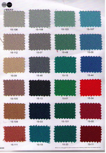 布色E15-01~E15-112