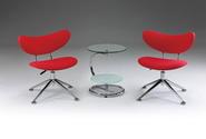 洽談桌椅 F6129+W8048