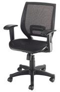 低背網椅 坐網 調整扶手 #1259