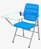 白宮藍色塑鋼課桌椅 塑膠面/烤漆腳