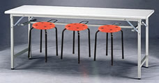 W型檯面固定會議桌