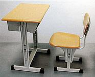 可調式課桌椅(原木色)
