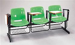 玻纖課排椅