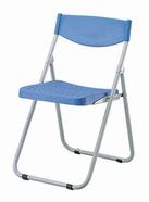 塑鋼合椅 藍