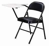 皮面課桌椅  黑色皮