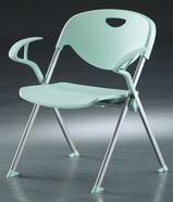 塑鋼椅 烤漆 有扶手