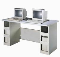 雙人電腦桌