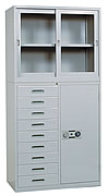 HS369整座邊九屜檔案櫃