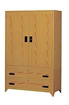 4X6內鏡木紋衣櫃
