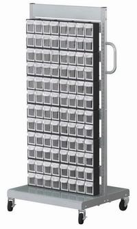 單面活動車+置物盒(96抽)