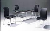 方桌T8038+椅C1104