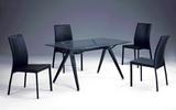 方桌T8046+椅C1166