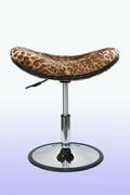 吧台椅 仿豹紋毛
